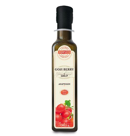 Goji berry sirup v skle 250 ml