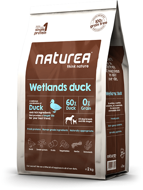 Naturea Krmivo pre psov Naturea Wetlands Duck, 12kg 12 kg