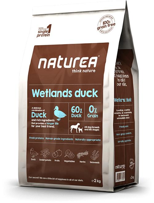 Naturea Krmivo pre psov Naturea Wetlands Duck, 2kg 2 kg