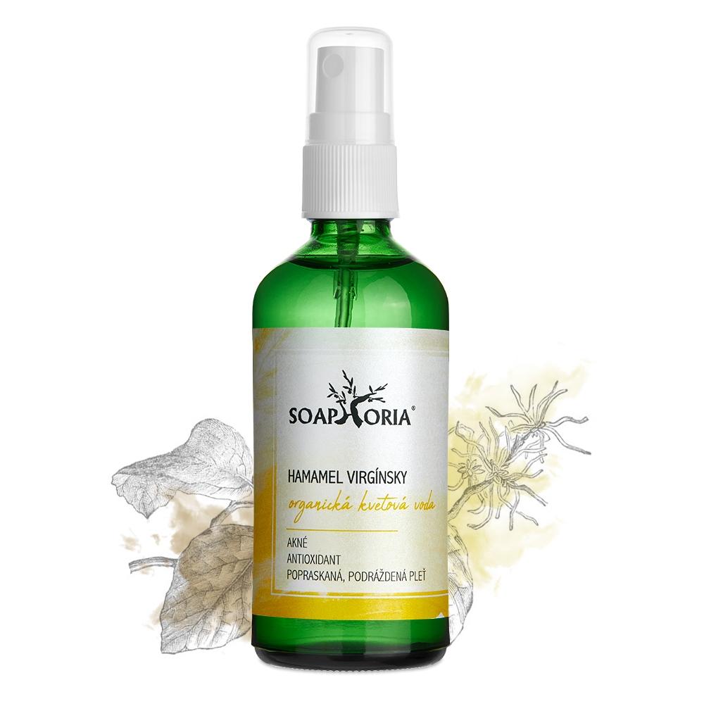 Hamamel virgínsky - organická kvetová voda 100 ml