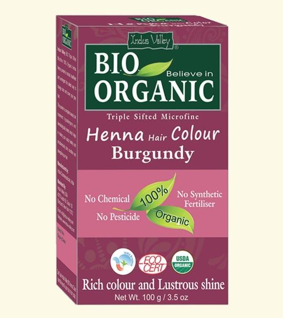 Henna farba na vlasy Burgundská