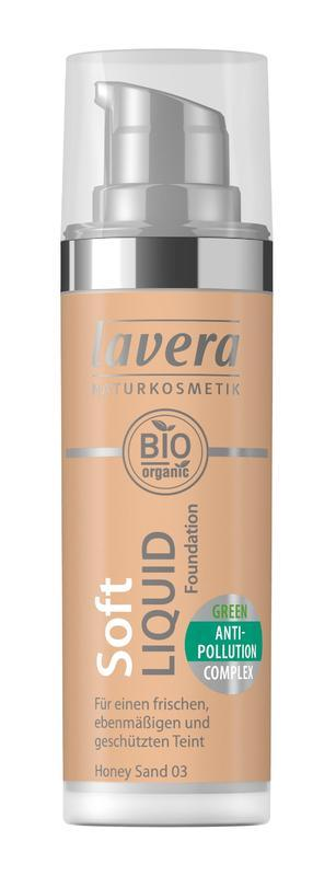 Lavera Ľahký tekutý make-up - 03 medová 30 ml