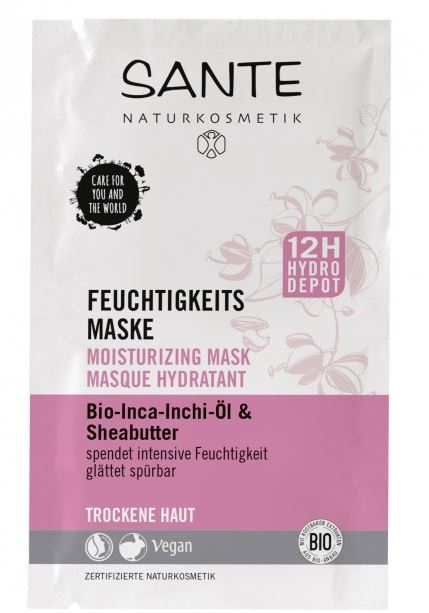 Hydratačná pleťová maska2x4 ml