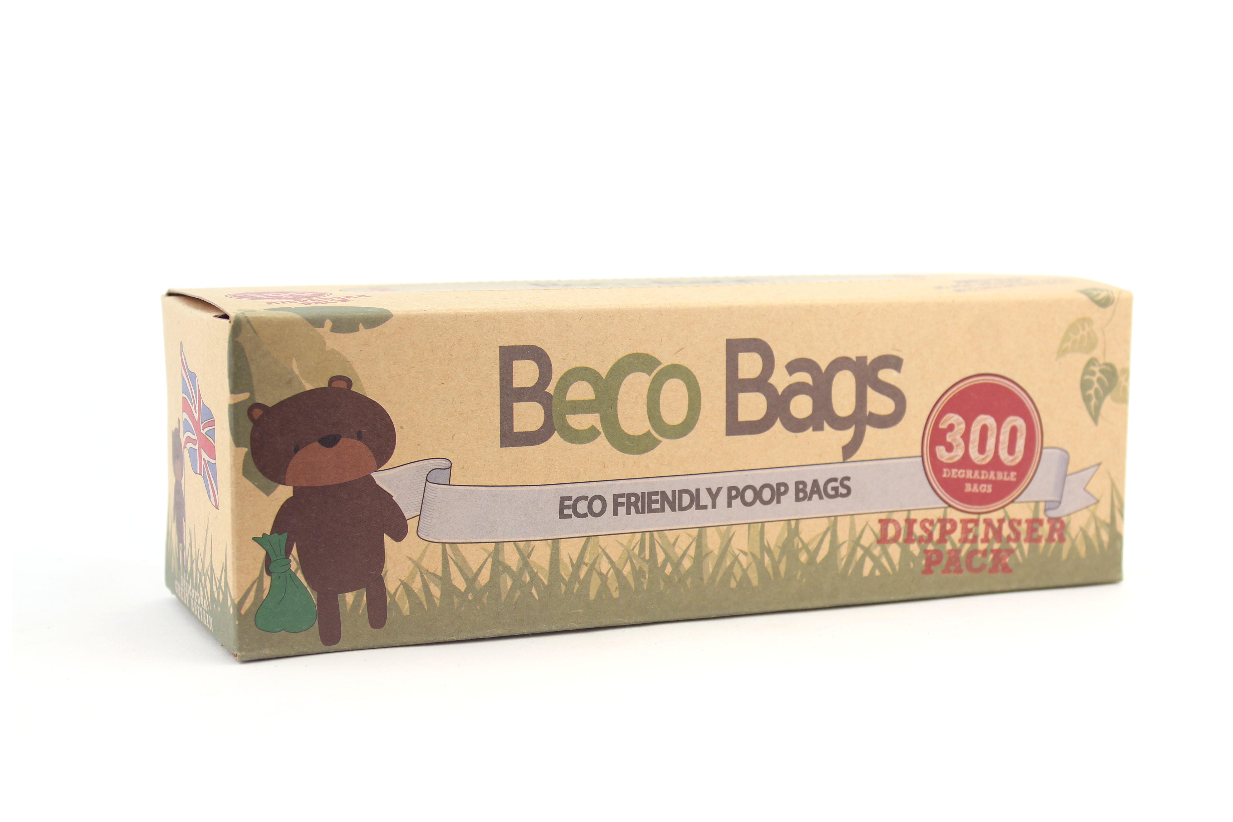 Vrecká na exkrementy, 300 ks, ekologické