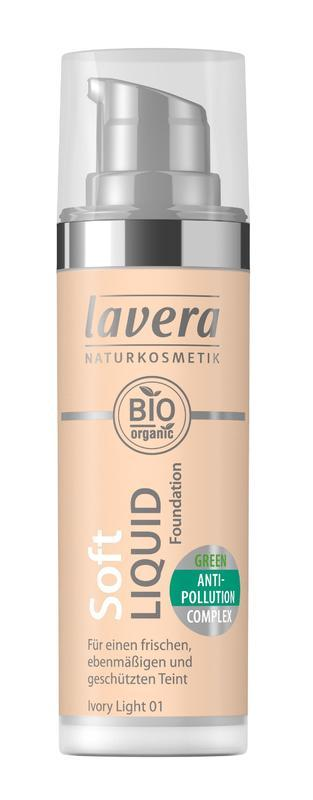 Lavera Ľahký tekutý make-up - 01 porcelánová 30 ml