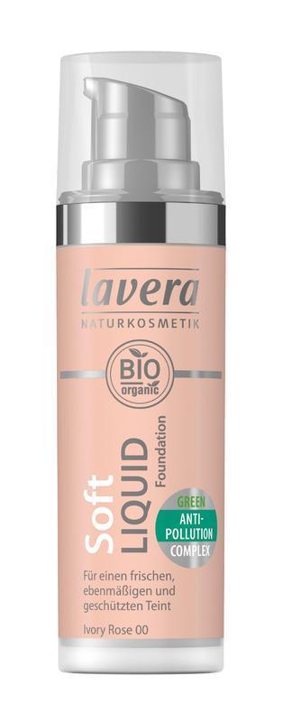 Lavera Ľahký tekutý make-up - 00 slonová kosť 30 ml