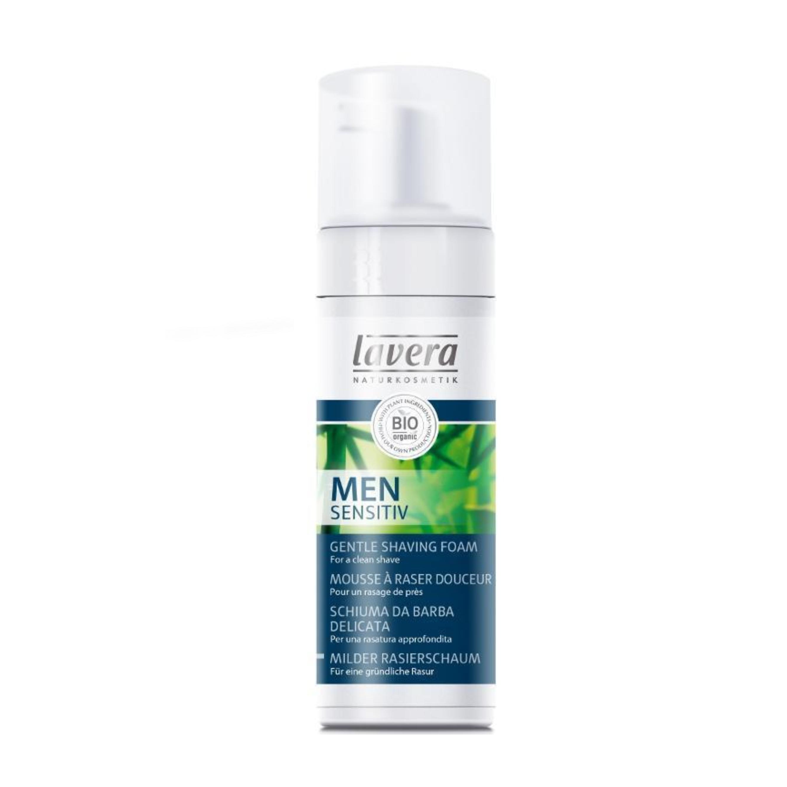 Jemná pena na holenie pre mužov 150 ml Lavera
