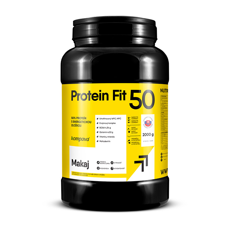 ProteinFit 50 2000 g/57 dávok čokoláda