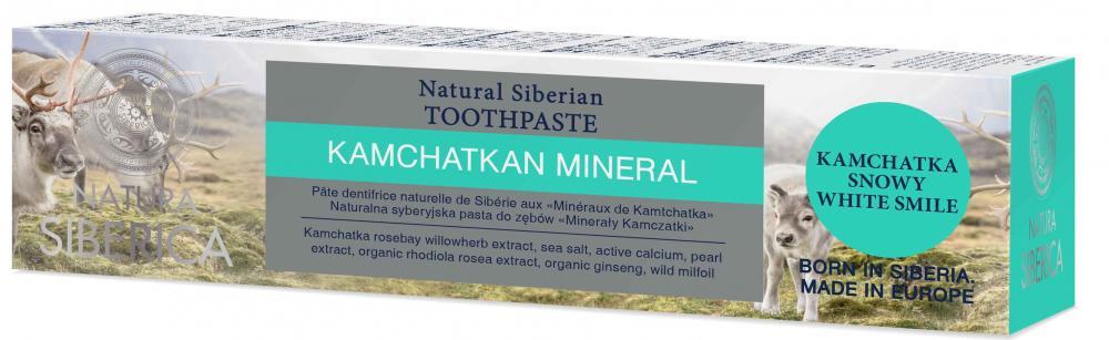Prírodná sibírska zubná pasta - Kamčatský minerál