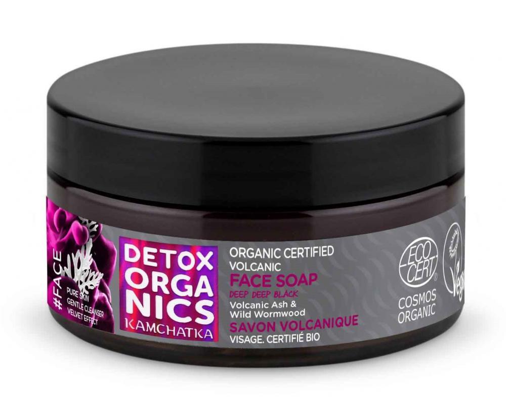 Natura Siberica Detox Organics - Kamchatka - Sopečné mydlo na tvár 100 ml