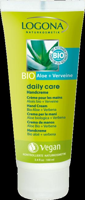 Logona Krém na ruky bio aloe & verbena 100 ml 100 ml