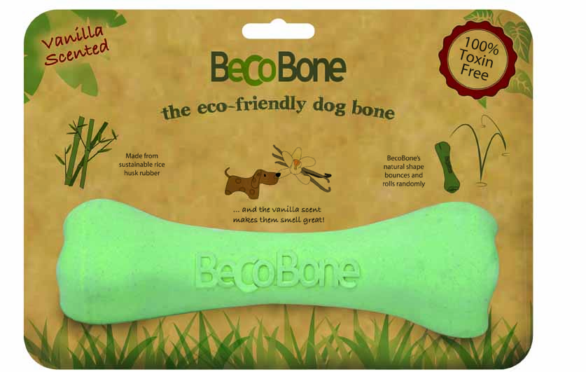 BecoBone kosť EKO-zelena-s