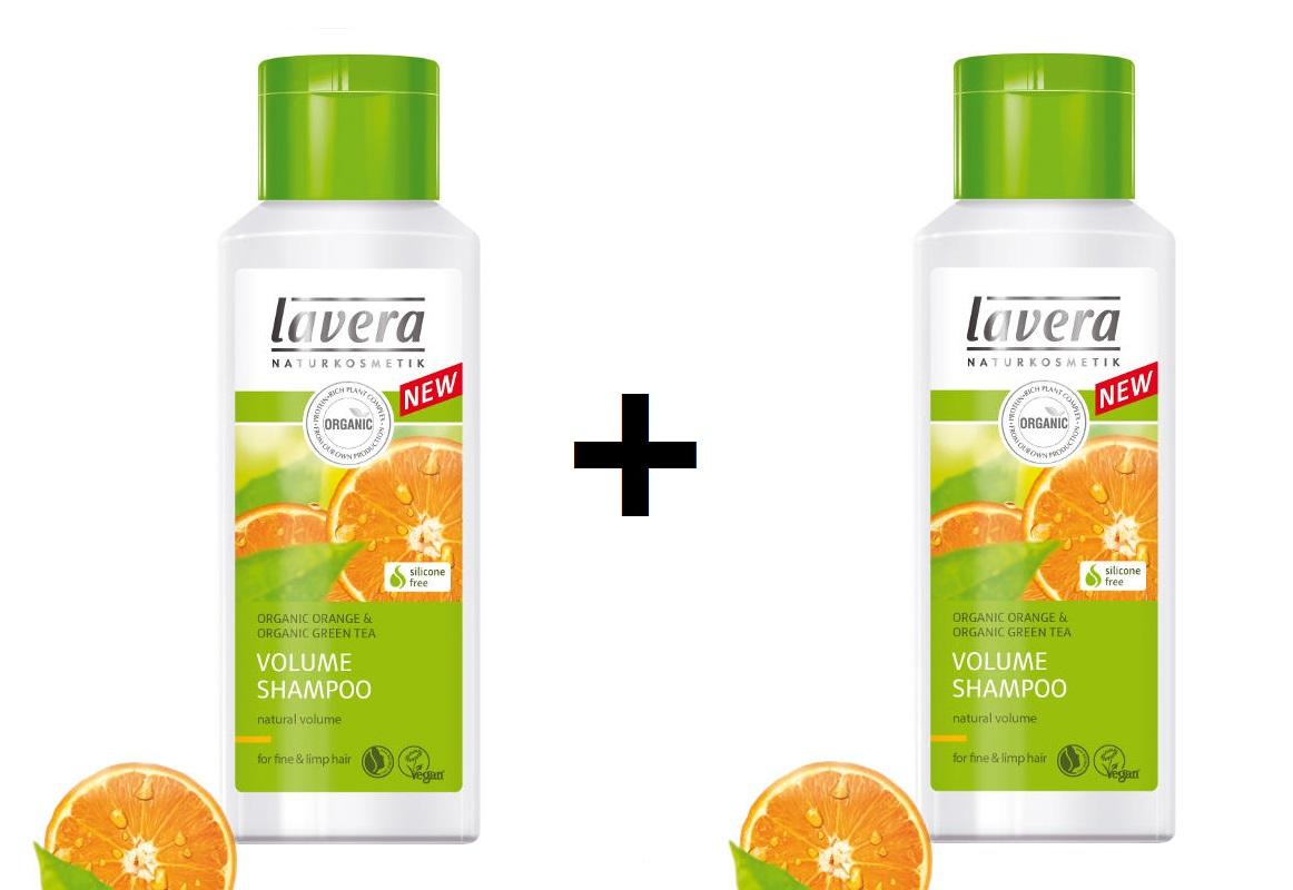 Šampón VOLUME pre jemné a slabé vlasy 1+1