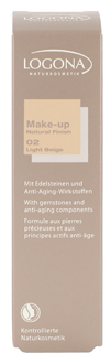 MAKE-UP NATURAL FINISH 02, LIGHT BEIGE
