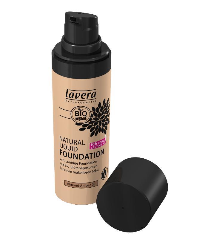 Prírodný tekutý make-up Mandla- ambra No.5