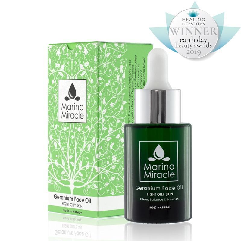 Pleťový Olej Geranium Face Oil / Acne Fight Serum 28ml
