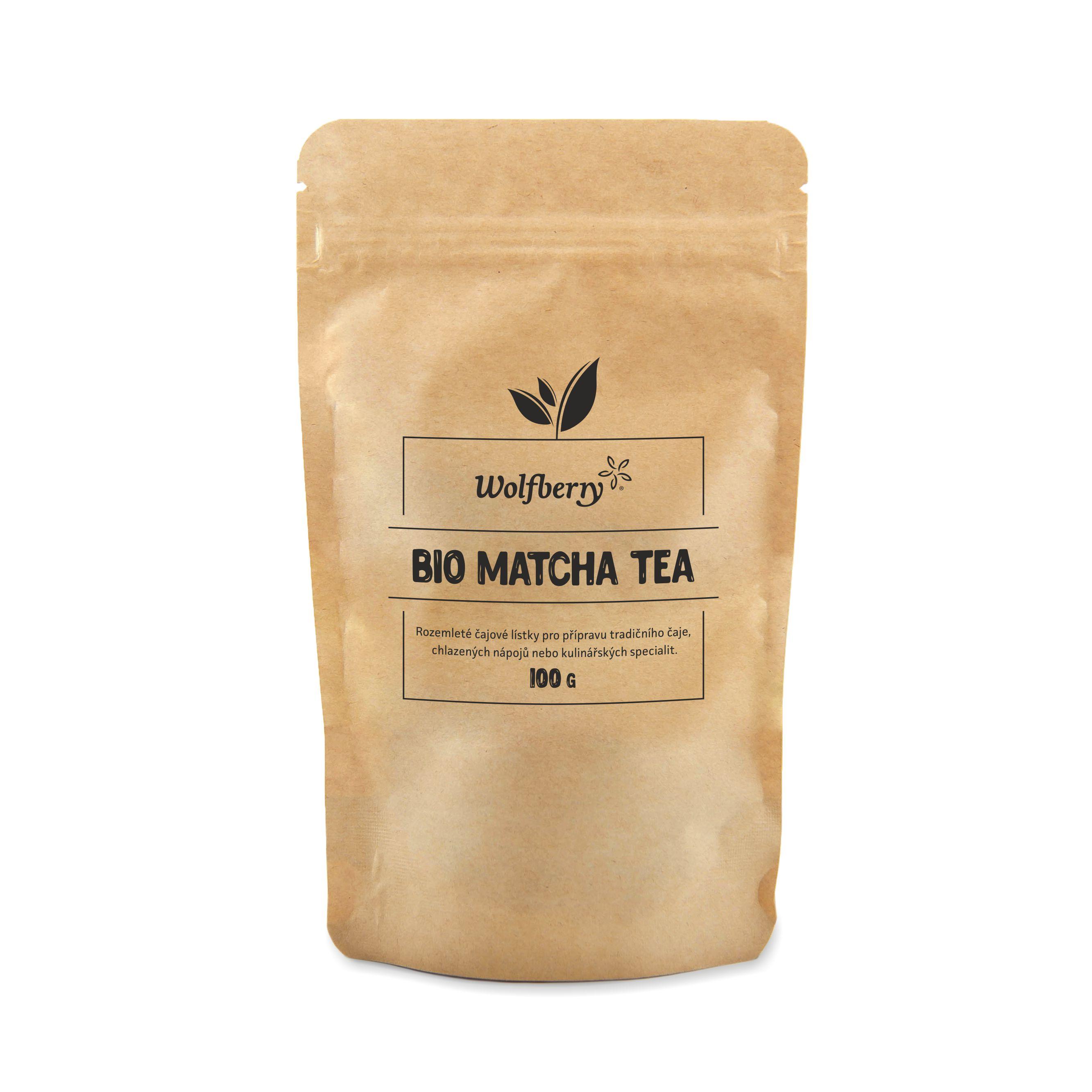 Wolfberry Matcha tea BIO 100 g Wolfberry * 100g