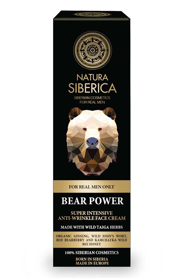 Natura Siberica Super intenzívny krém proti vráskam Sila medveďa 50 ml