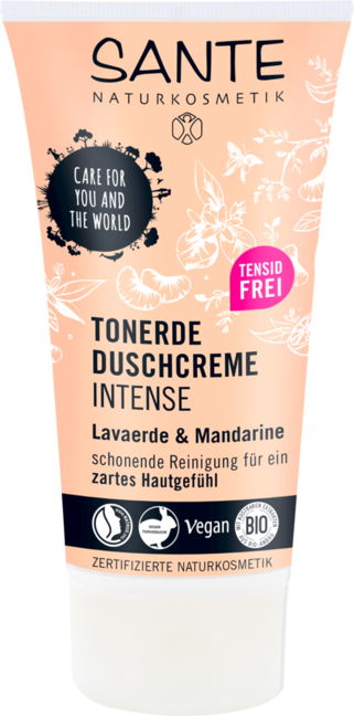 Sante Akcia spotreba 10/2021 Minerálny sprchový gél INTENSE s mandarínkou 150 ml 150 ml