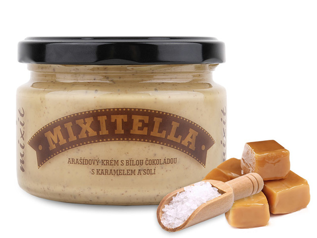 Mixitella - Arašidy so slaným karamelom