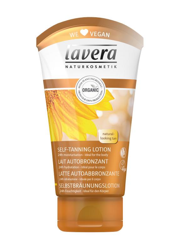 lavera Samoopaľovacie telové mlieko 150ml -S