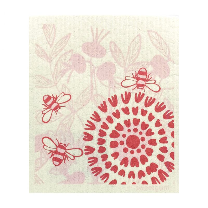 More Joy Ružový kvet - utierka