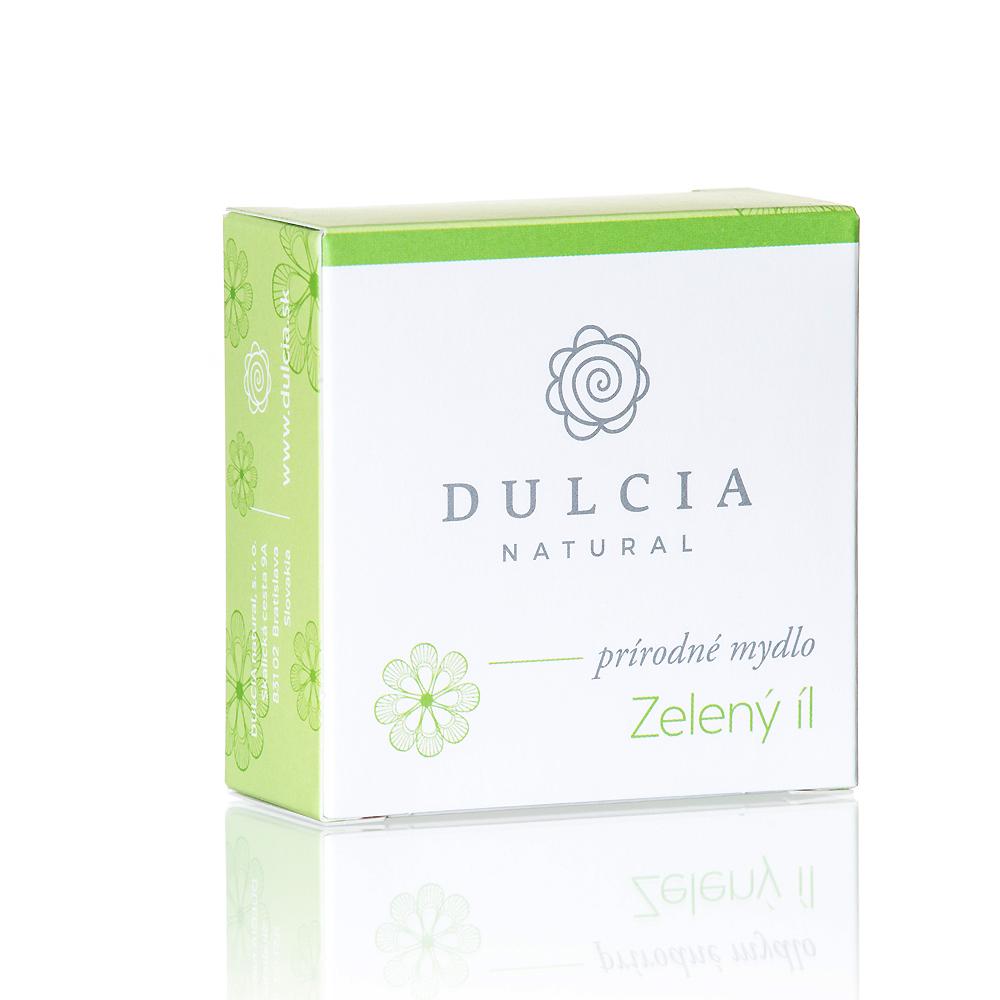 Dulcia natural Prírodné mydlo - Zelený íl 90 g 90 g