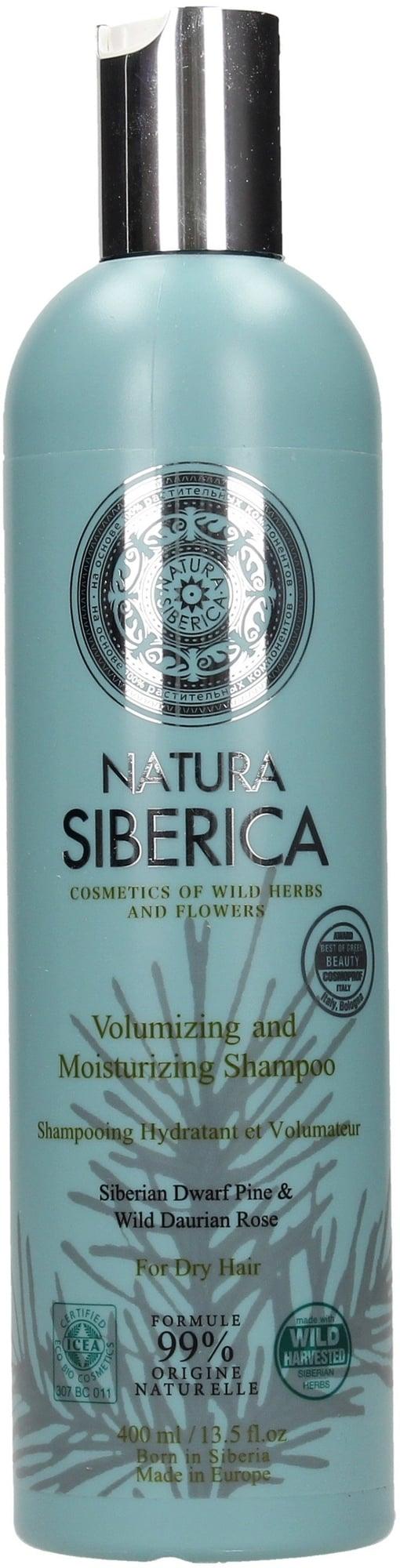 Natura Siberica Šampón - Objem a hydratácia pre suché vlasy 400ml