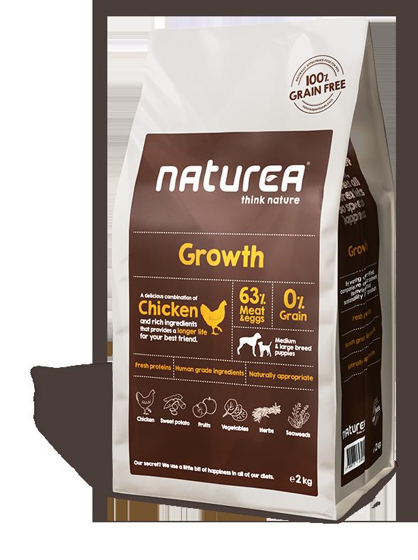 Naturea Naturea Growth, 2kg. 2 kg