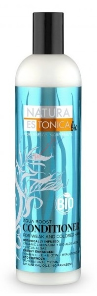 Natura Siberica Natura Estonica - Kondicionér pre hydratáciu suchých vlasov 400 ml