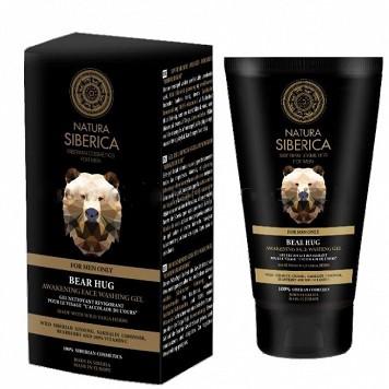 Natura Siberica Povzbudzujúci čistiaci pleťový gél Objatie medveďa 150 ml