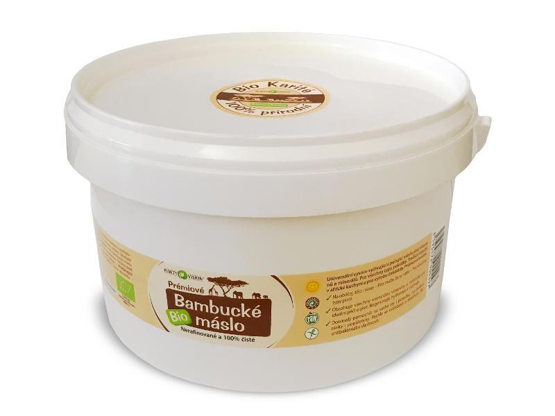 Purity Vision Bio bambucké maslo 2,5 kg 2,5 kg