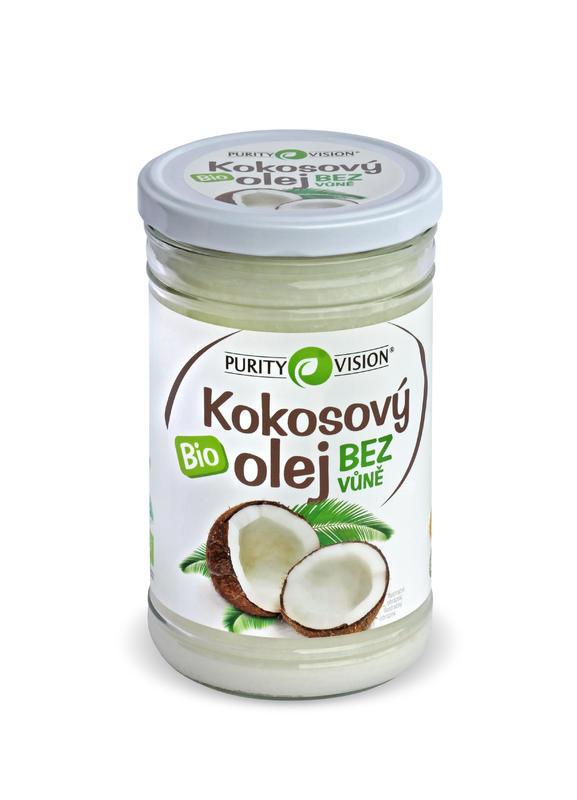 Purity Vision Kokosový olej bez vône BIO 900 ml 900 ml