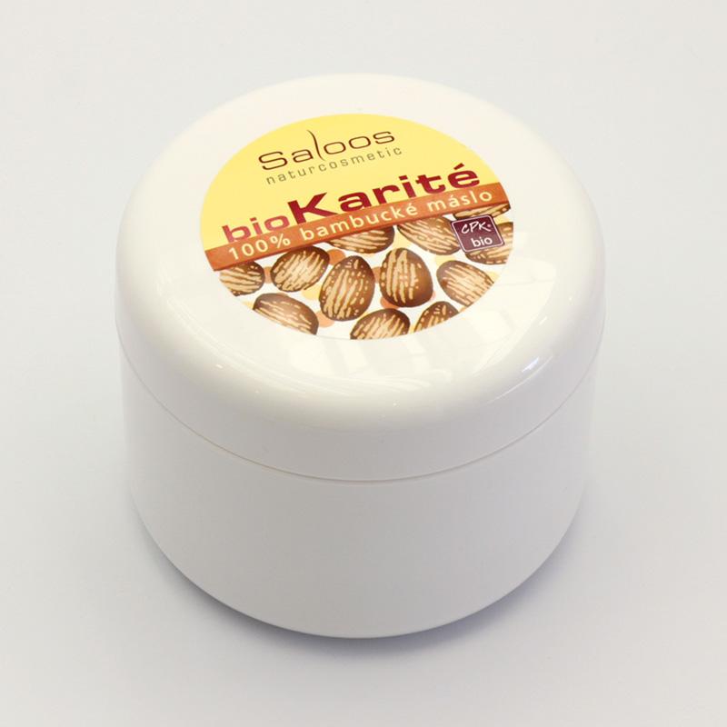 Saloos Bio karité - 100% Bambucké maslo 250 250 ml