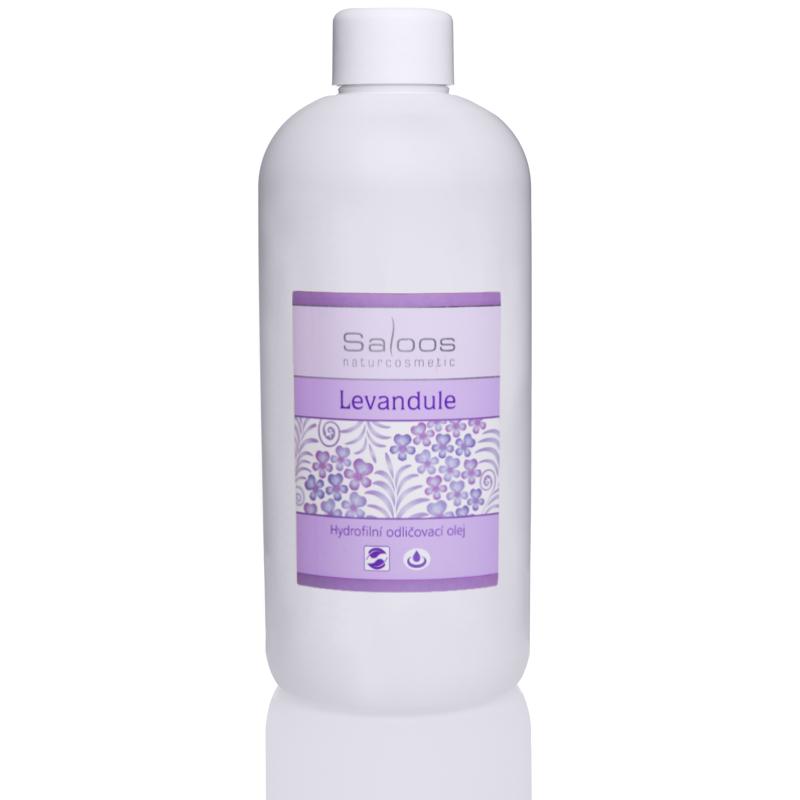 Levanduľa - hydrofilný odličovací olej 500