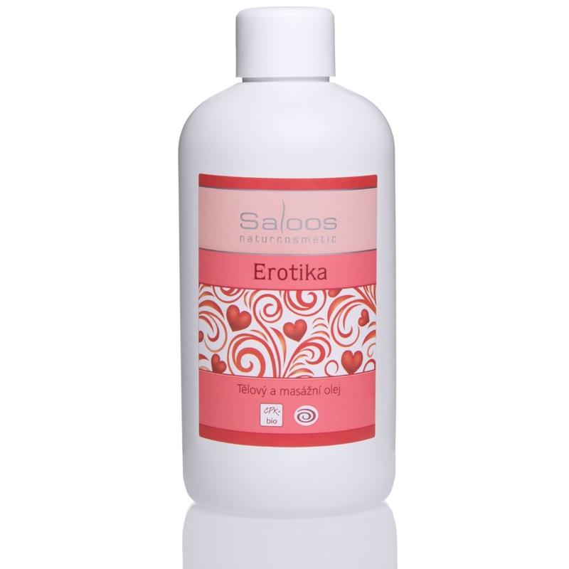 Erotika - telový a masážny olej 250
