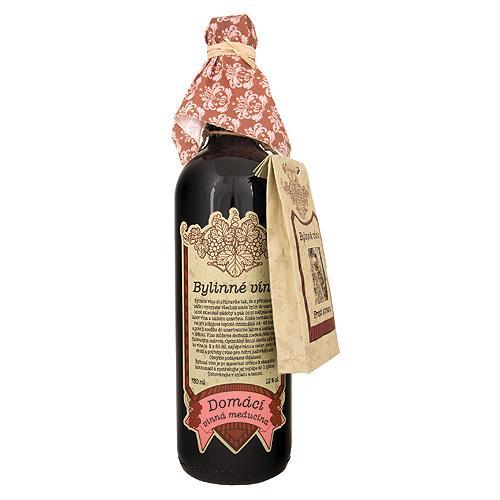 Darčekové Babičkino víno k macerácií 0,75l - proti stresu