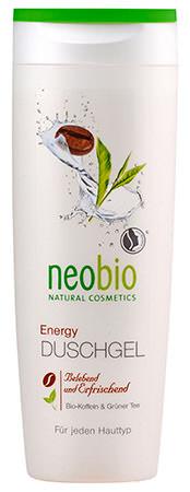NEOBIO Sprchový gél Energy 250 ml