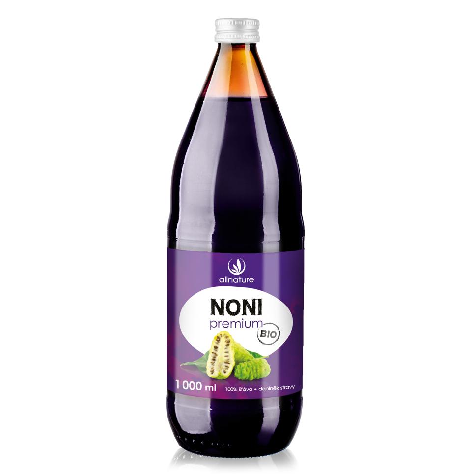 Allnature Noni BIO Premium 1000 ml 1 l