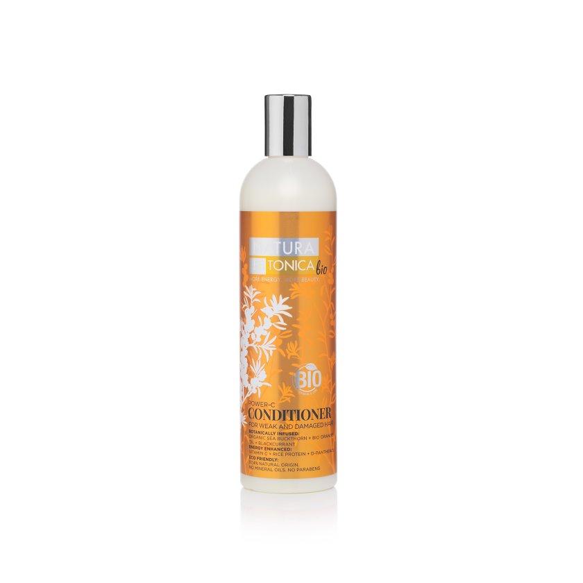 Natura Siberica Natura Estonica - Kondicionér pre slabé a zničené vlasy s vitamínom C 400 ml