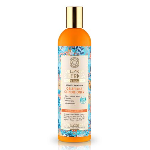 Natura Siberica Rakytníkový balzam pre normálne a suché vlasy - Intenzivná hydratácia 400 ml