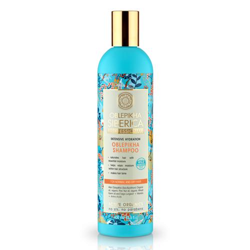 Rakytníkový šampón pre normálne a suché vlasy - Intenzívna hydratácia