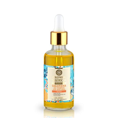 Natura Siberica Rakytníkový olejový komplex pre končeky vlasov 50 ml
