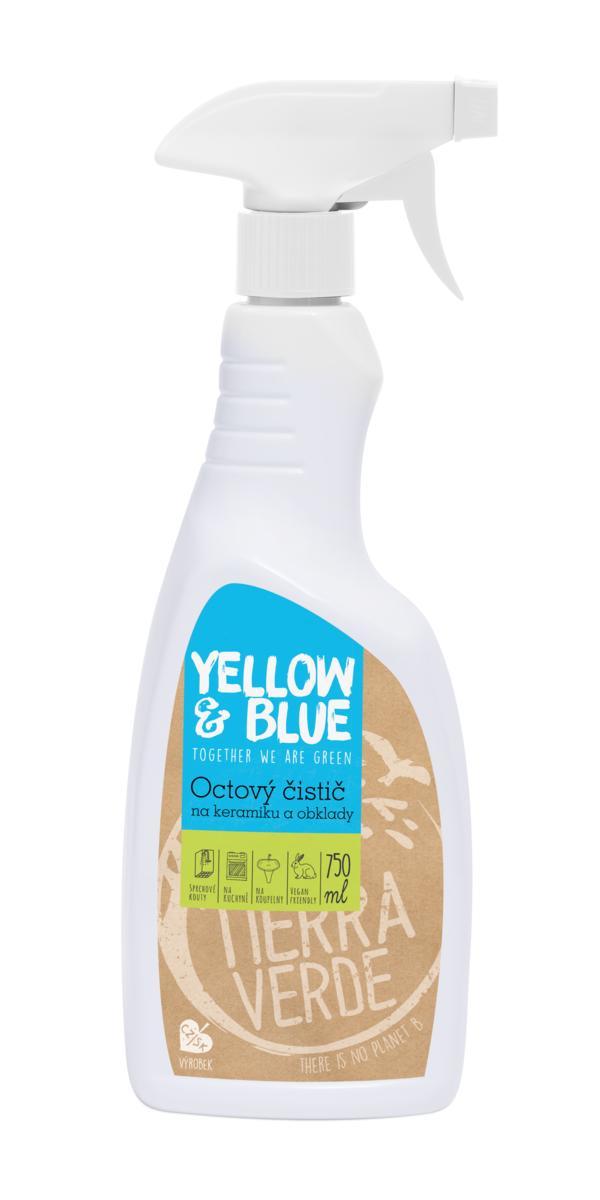 Yellow & Blue Octový čistič na keramiku a obklady 750 ml (rozprašovač) 750 ml