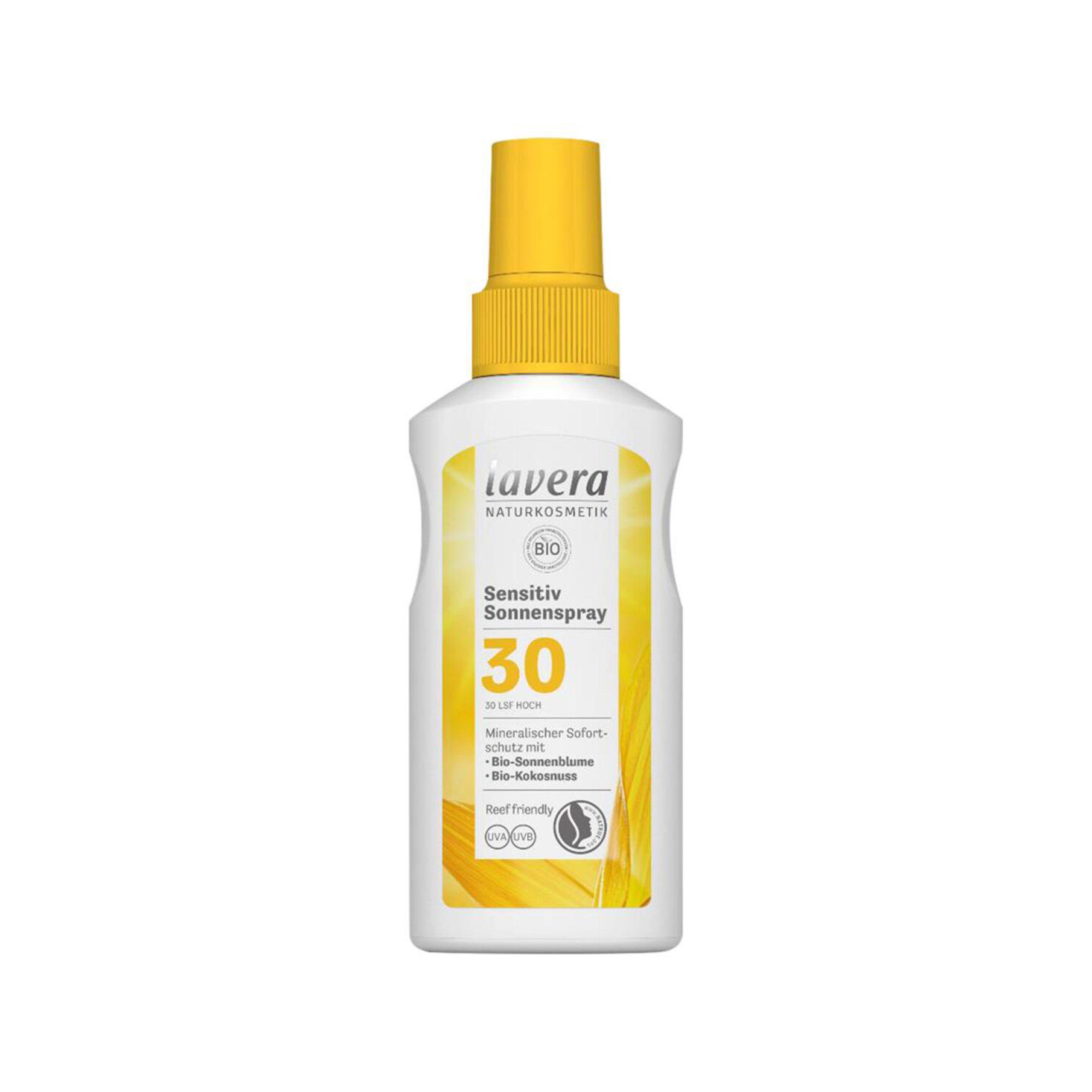 Opaľovací sprej Sensitiv SPF 30 BIO 100 ml Lavera