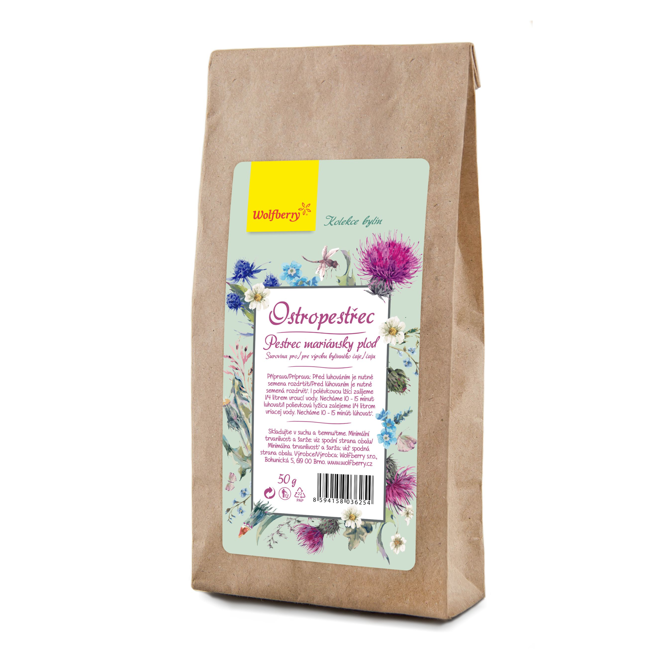 Pestrec plod bylinný čaj 50 g Wolfberry