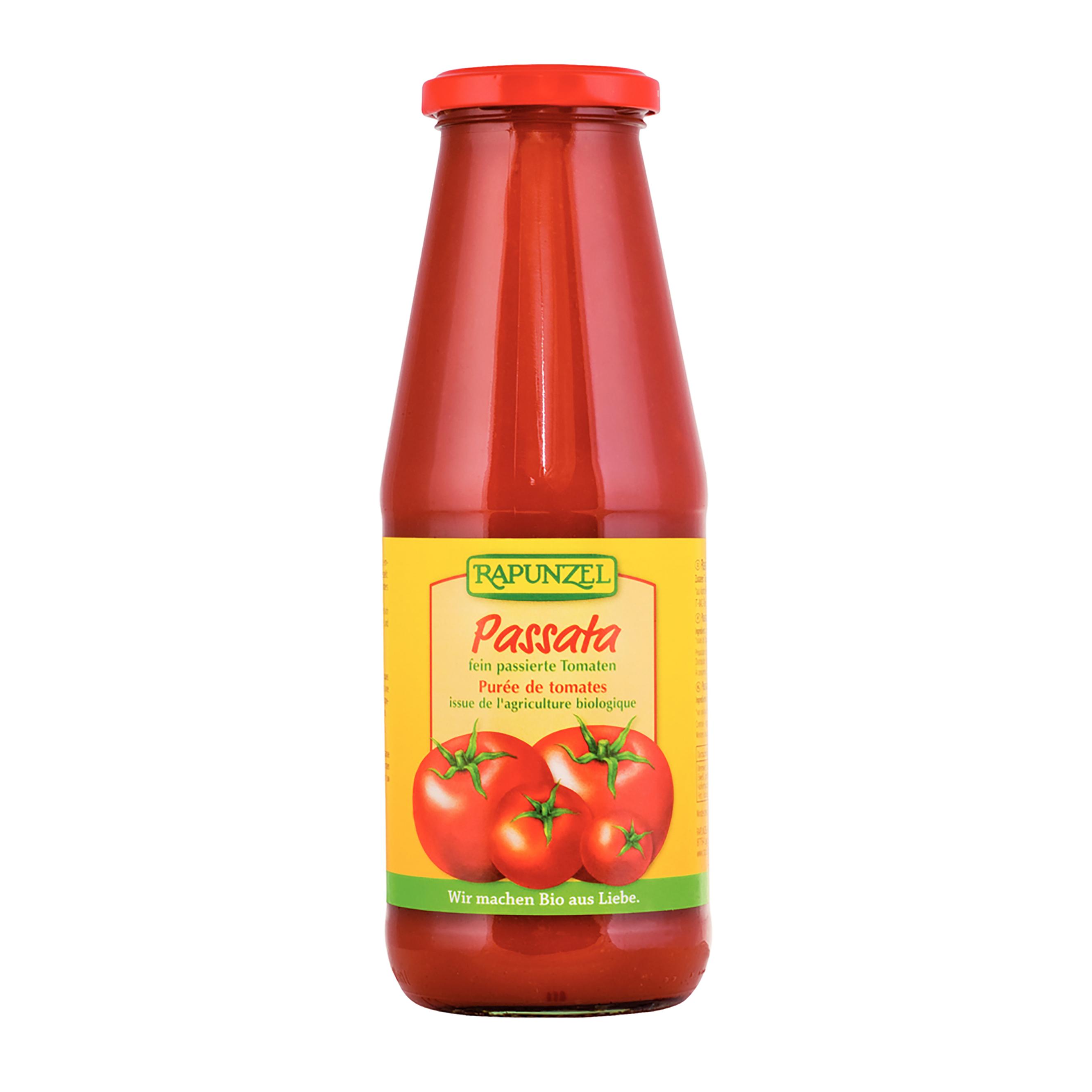 Passata-drvené paradajky BIO 680 g Rapunzel *