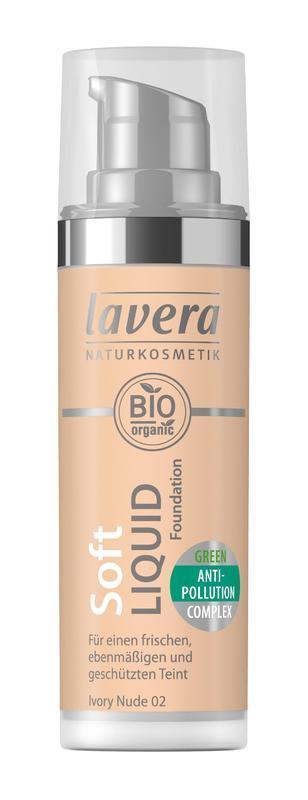 Lavera Ľahký tekutý make-up - 02 piesková 30 ml