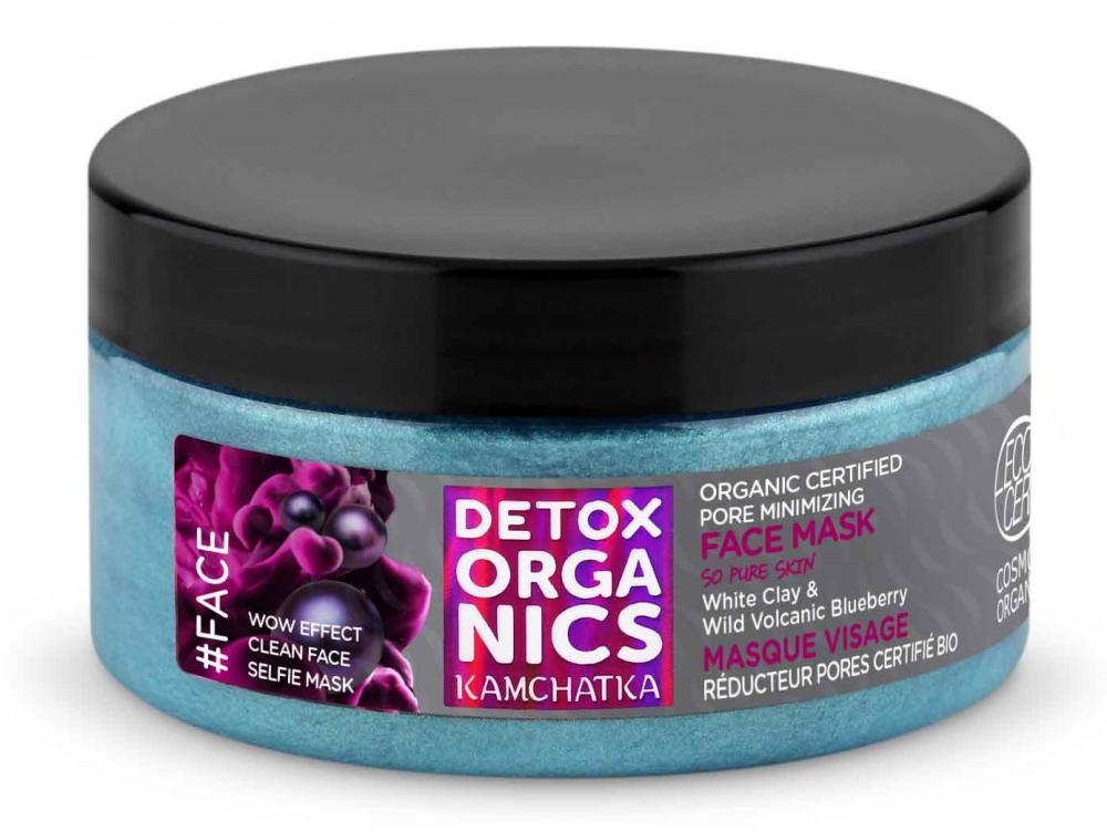 Detox Organics - Kamchatka - Pleťová maska minimalizujúca póry