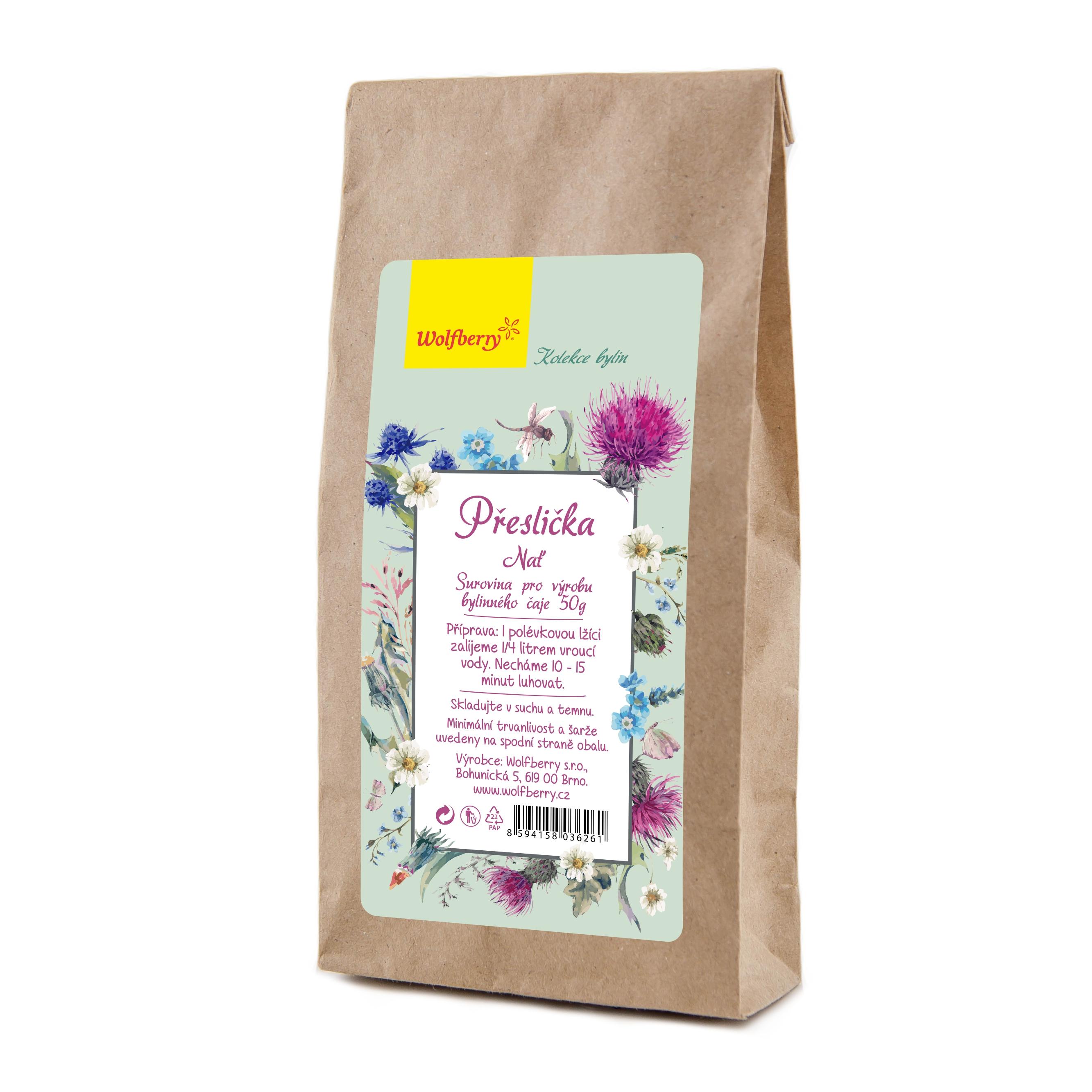 Praslička vňať bylinný čaj 50 g Wolfberry